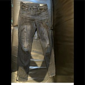 Rag And Bone high rise skinny jeans size 26